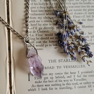 Gorgeous Amethyst and Sterling Silver Necklace